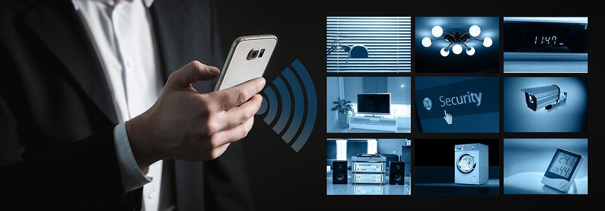 A través de la domótica podemos controlar todos los sistemas de un hogar