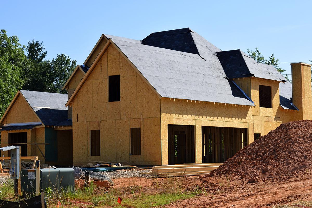 Casa pasiva construida sobre el mejor terreno